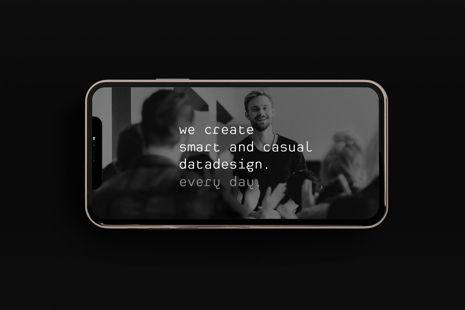 Smart casual <br>Datadesign